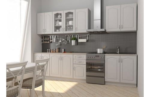 Kuhinja NIKA (260 cm) - Bijela