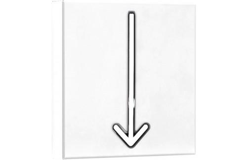 Vješalica ARROW - bijela