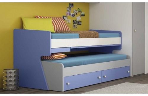 Dječji krevet na kat Round