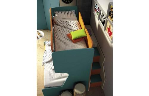 Dječji krevet na kat TITANO