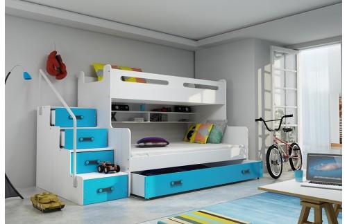 Krevet na kat MAXIM (različite boje) + GRATIS ležajevi