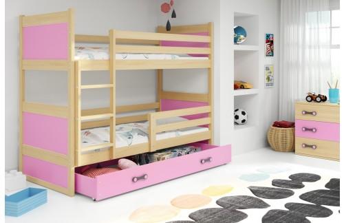 Krevet na kat RICO s ladicom 90x200 (različite boje) + GRATIS ležište