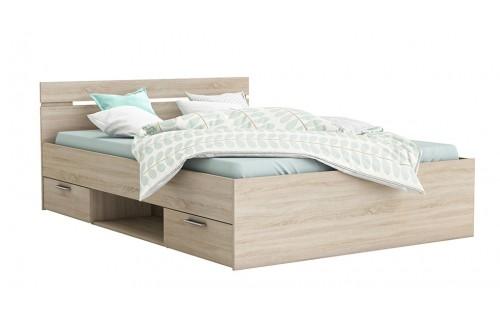 Krevet MICHIGAN 90×200 - sonoma hrast