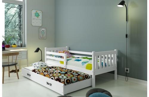 Krevet CARINO s mogućnosti dodatnog ležaja + GRATIS ležajevi