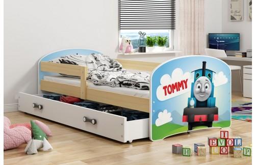 Krevet LUKI s ladicom-Bor-Tommy