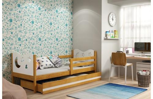 Krevet MIKO s ladicom (različite kombinacije boja)