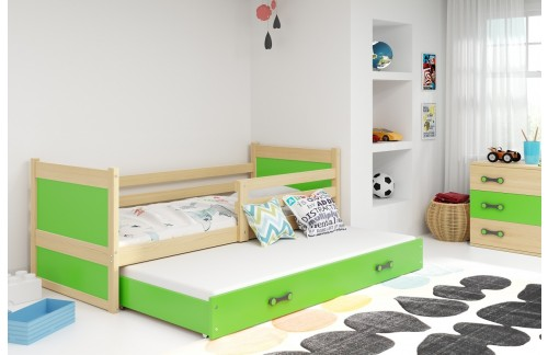 Krevet RICO s dodatnim ležajem 90x200 (različite boje) + GRATIS ležište