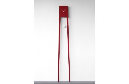 Zidni sat Tiuku - crvena