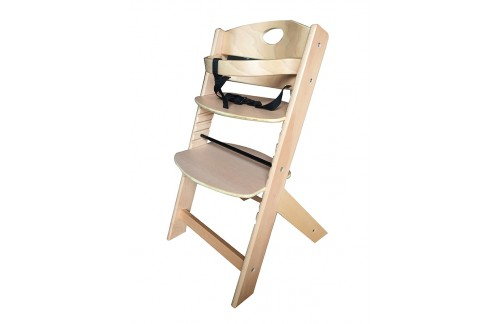 Dječji stolac za hranjenje GROONY (NATUR)