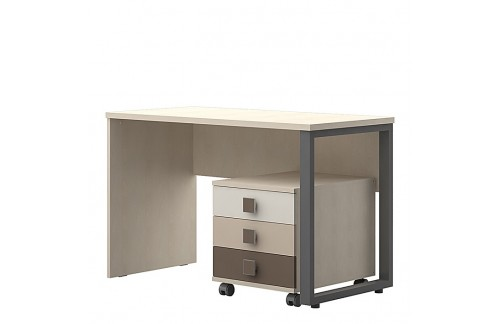 Radni stol TRIO-Smeđa kombinacija