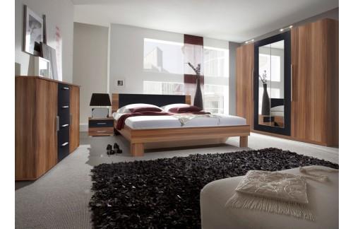 Spavaća soba ANNA, veliki komplet (orah)