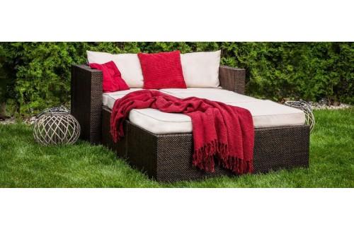 Vrtni namještaj TAHITI-krevet - više boja