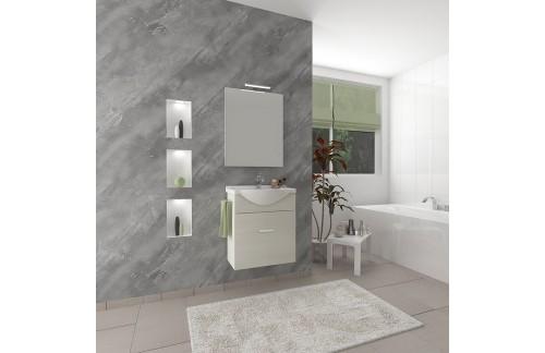 Kupaonica ZAFFIRO - Bijeli hrast