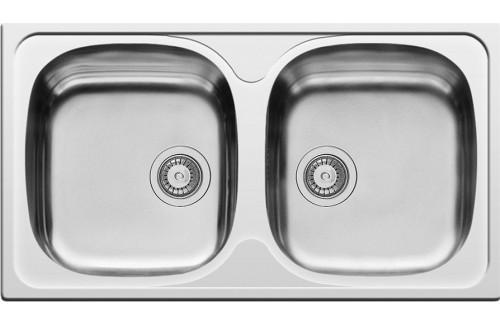 Nasadni sudoper dupli