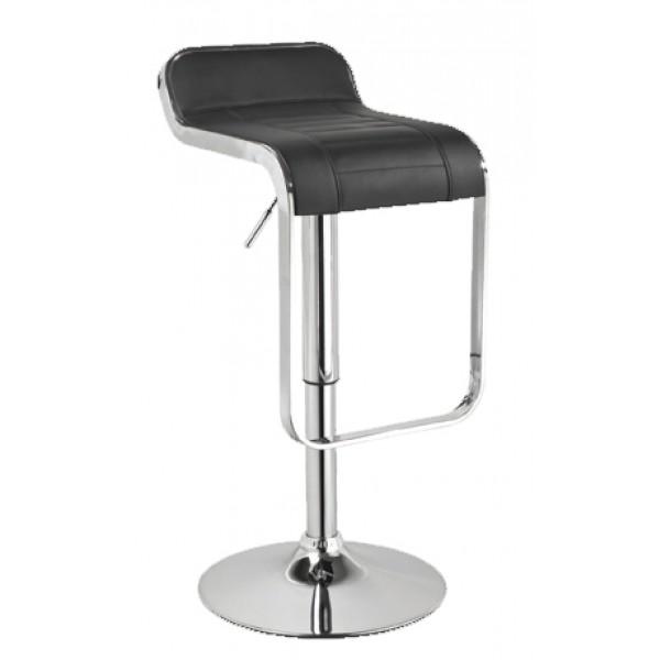 Barski stol LOTI - črn
