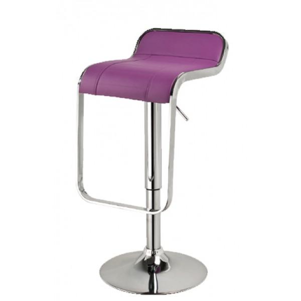 Barski stol LOTI - vijolična