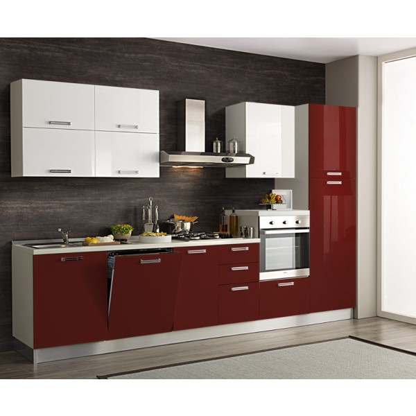 Komplet kuhinja s aparatima 2128D - 330 cm