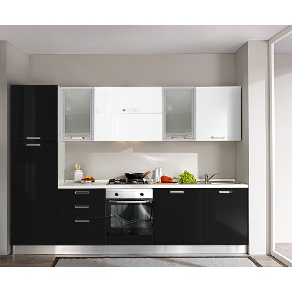 Komplet kuhinja s aparatima 3O13S - 300 cm