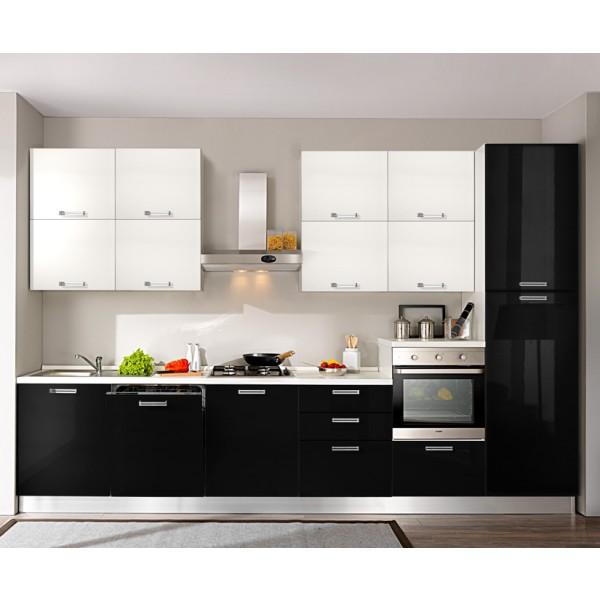Komplet kuhinja s aparatima 3O17D - 360 cm