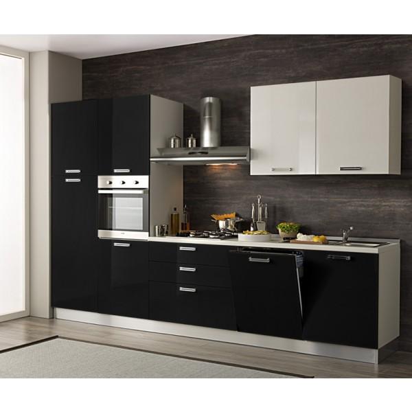 Komplet kuhinja s aparatima 3O19S - 330 cm