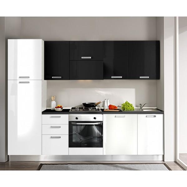 Komplet kuhinja s aparatima 4H25S - 270 cm