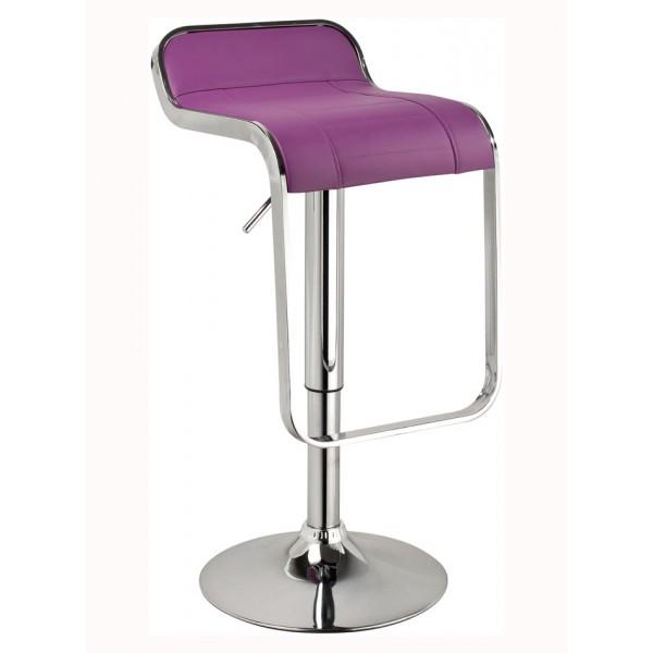 Barski stol Loti: vijolična