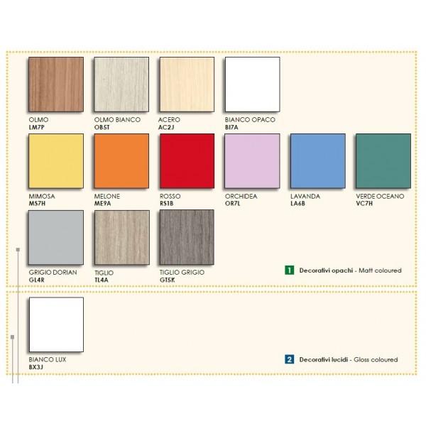 Otroška soba Colombini Volo C111 - barve