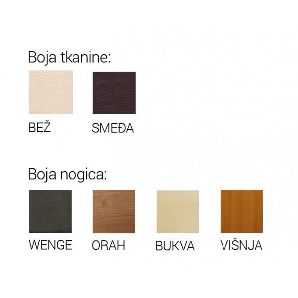 Blagovaonska stolica CORINA - boje
