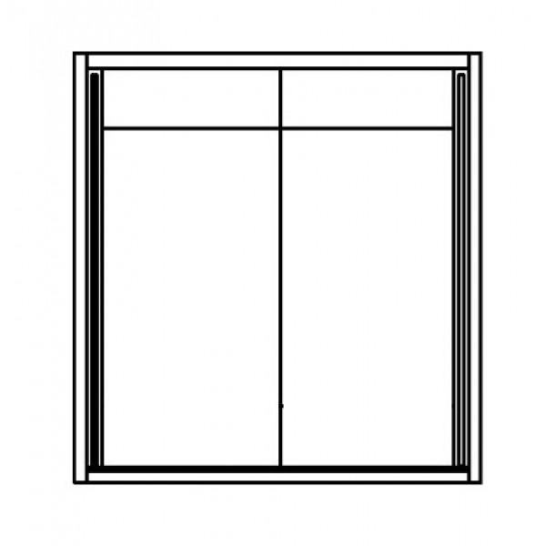 Garderobna omara WINNER 170 - unutrašnjost