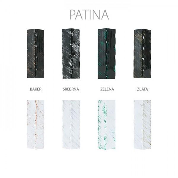Metalni krevet LETIDA T1 - Patina