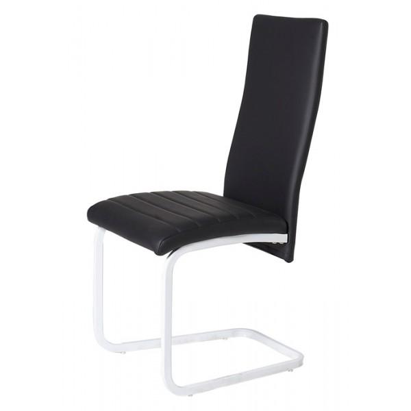 Blagovaonska stolica Belly - crna