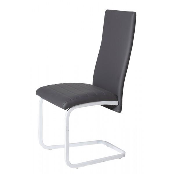 Blagovaonska stolica Belly - siva