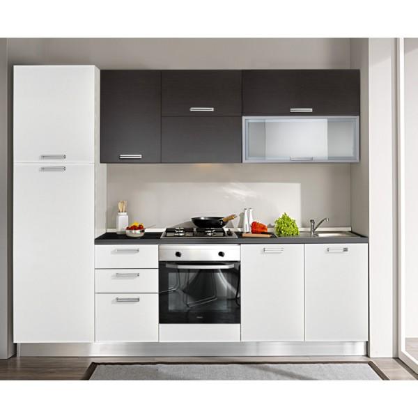 Komplet kuhinja s aparatima 1718S - 255 cm
