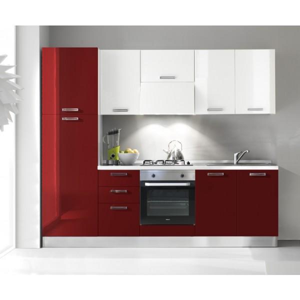 Komplet kuhinja s aparatima 2106S - 255 cm