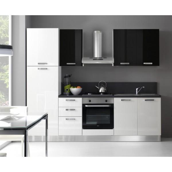 Komplet kuhinja s aparatima  2113S - 255 cm
