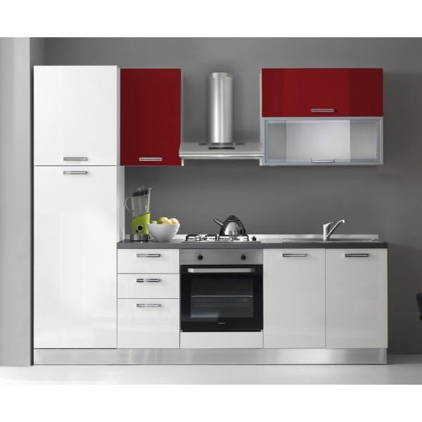 Komplet kuhinja s aparatima 2122S - 255 cm