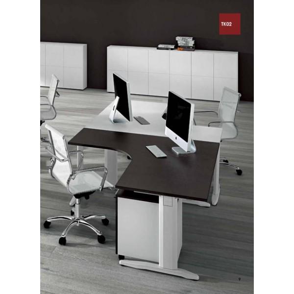 Kutni uredski stol TK02