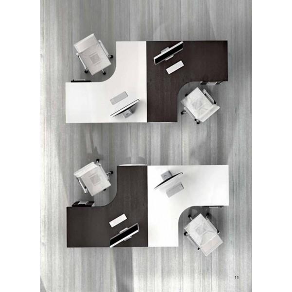 Kutni uredski stol TK02 - kombinacija