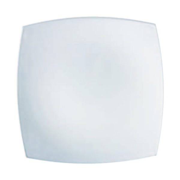 Plitki tanjur Quadrato Bijeli