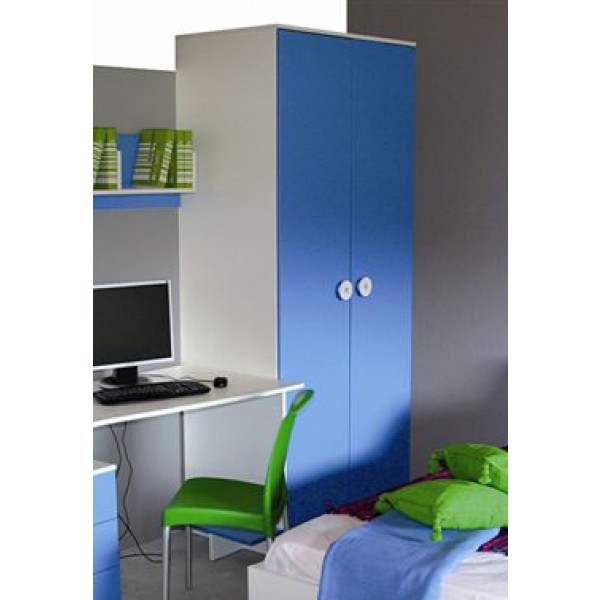 Dječji ormar TEEN COLOURS - plava (slika je simbolična)