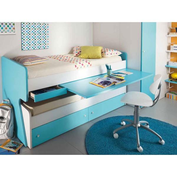 Dječja soba Colombini Volo V306 - krevet