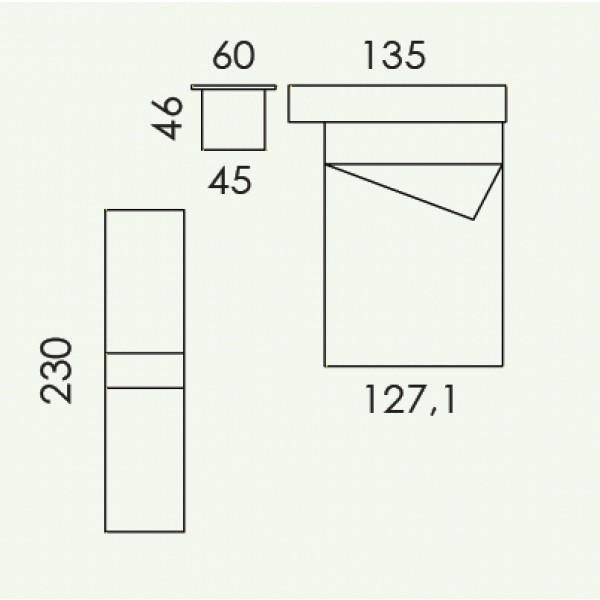 Dječja soba Colombini Volo V308 -  tloris