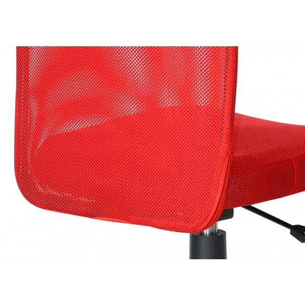 Uredska stolica NI25: crvena, detalj