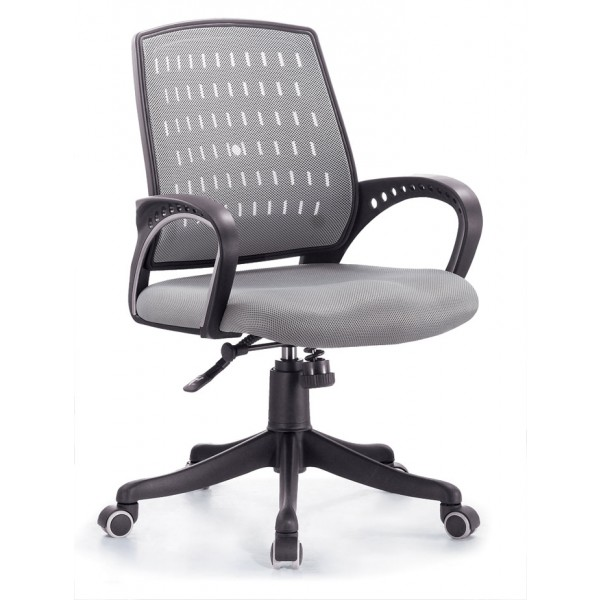 Uredska stolica Pončo: siva