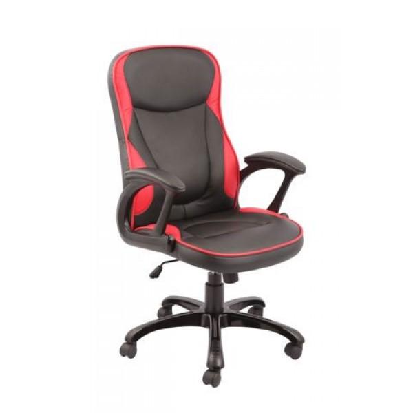 Uredska stolica TOMAS (crveno-crna)