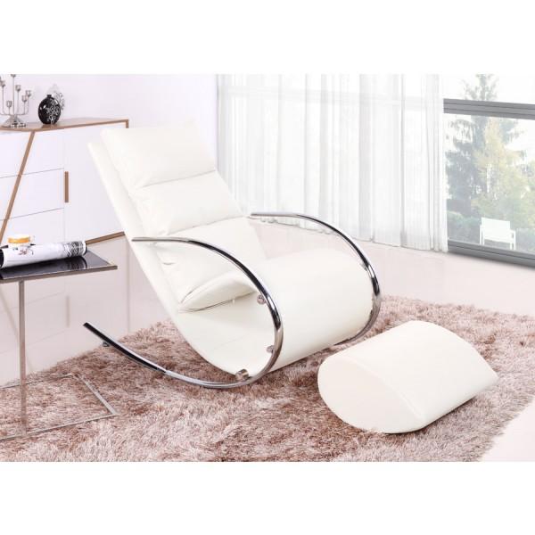 Fotelja Ivana - bijela