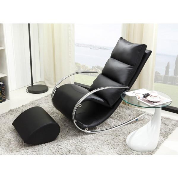 Fotelja Ivana - crna