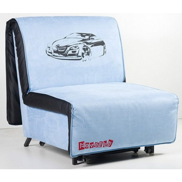 Multifunkcijska fotelja Novelty s ležištem - Motiv: Cars
