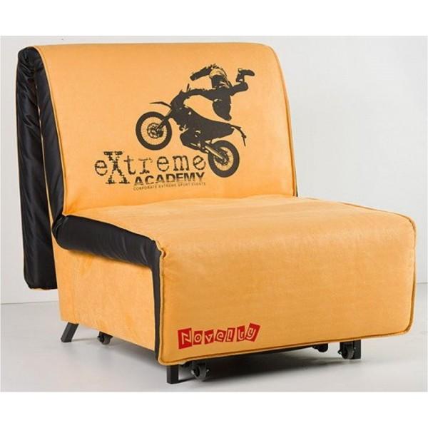 Multifunkcijska fotelja Novelty s ležištem - Motiv: Extreme