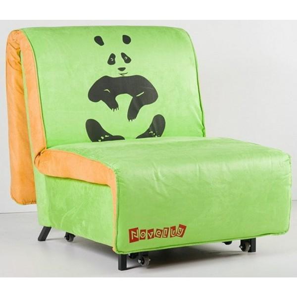Multifunkcijska fotelja Novelty s ležištem - Motiv: Panda